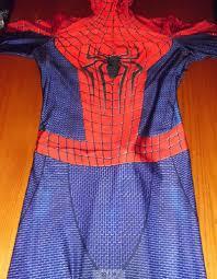 aliexpress com buy marvel halloween lycra the amazing spiderman