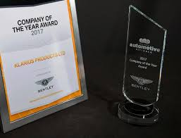 bentley motors logo klarius wins company of the year award 2017 sponsored by bentley