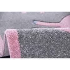 kids rugs kids rug happy rugs unicorn silver gray pink 120x180cm 119 00