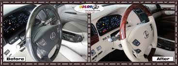 lexus service abu dhabi lexus steering wheel color change by color glo uae color glo