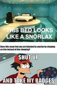 Snorlax Meme - rmx snorlax bed by digifool95 meme center