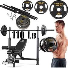 Cheap Weight Benches With Weights Weight Bench Set Ebay