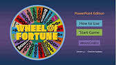 download the best wheel of fortune powerpoint game template how