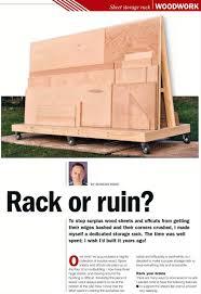 180 plywood storage rack plans workshop solutions garage