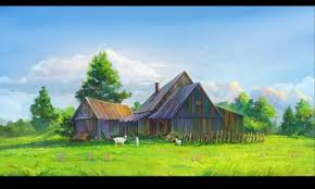 Wallpaper Barn Anime Arsenixc 2560x1440 Wallpaper High Quality Wallpapers High