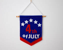 4th Of July Bunting Decorations July 4th Decorations Etsy