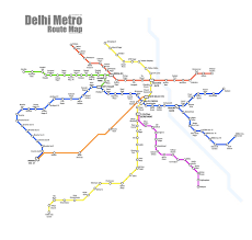 Metro Route Map by Delhi Metro Page 520 Skyscrapercity