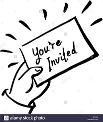 An Invitation Card An Invitation Card With The Words Youre Invited On The Front In