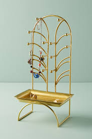 art deco giraffe ring holder images Gold bathroom decor accessories linens anthropologie