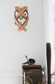 Leather Chandelier 28 Brilliant Diy Lighting Ideas You Can Totally Do