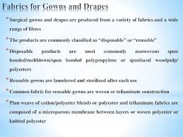 Surgical Gowns And Drapes Textile For Microorganism Protection