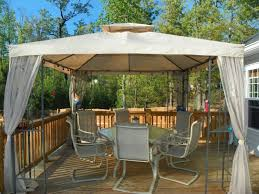 Backyard Canopy Covers Diy Gazebo Canopy Replacement Covers Design Home Ideas