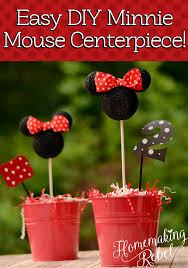 minnie mouse party diy minnie mouse party decor homemaking rebel