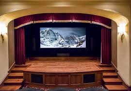 screen size for home theater home theater integrated electronics
