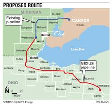Defiance Ohio Map by Law Firm Soliciting Landowners To Fight Nexus Gas Pipeline The Blade