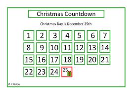 christmas countdown calendar autism christmas countdown calendar and sensory poster by