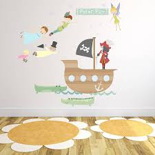 fabric wall decals decal peter pan fabric wall stickers