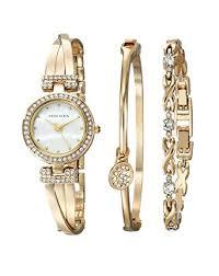 anne klein bracelet set images Anne klein women 39 s ak 1868gbst swarovski crystal jpg