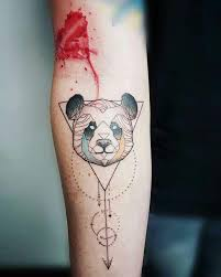 27 best tatouage panda images on pinterest animal tattoos