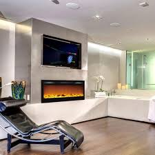lexington 35 inch built in ventless heater recessed wll mounted