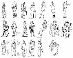 gallery simple human sketch drawing art gallery
