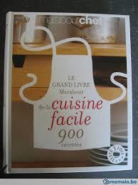 livre cuisine marabout le grand livre marabout de la cuisine facile neuf a vendre
