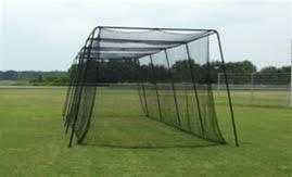 Backyard Batting Cages Reviews 40 U0027 Batting Cage U0026 Frame With 36 Net Hittingworld Com