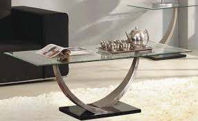 Chrome And Glass Coffee Table with 2016 Glass Coffee Tables Glass Coffee Tables Look So Pretty