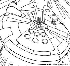 print star wars millenium falcon coloring pages coloring pages