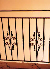 Wrought Iron Banister Rails Wrought Iron Balcony Hand Rails Railings Works Houston Tx