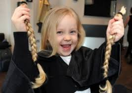 youtube young boys getting haircuts donate hair little princess trust