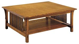 stickley mission cocktail table gallery furniture stickley mission cocktail table