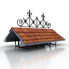 buildings and houses 3d models roof n070211 3d model gsm