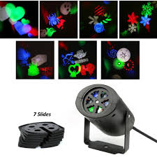 Outdoor Projector Christmas Lights by Amazon Com Upgrade Howsan Rotating Rgb Projection Led Lights