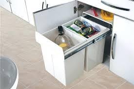 poubelle cuisine tri poubelle cuisine 2 bacs poubelle de cuisine encastrable 2a20