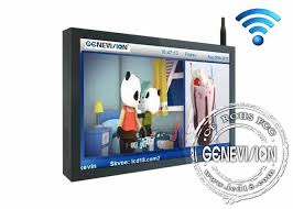 Lcd Wifi Inch All Perspective Wifi Digital Signage Lcd Display With Safety Lock