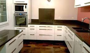 cuisine avec plan de travail en bois plan de cuisine bois plan de travail en bois pour salle de bain 3
