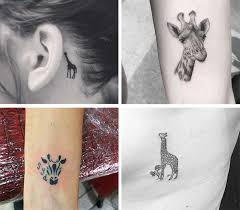 Giraffe Tattoos Meaning 50 Absolutely Small Tattoos For With Their Meanings