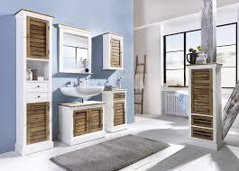 möbel für badezimmer hochschrank burgund antik look weiß graubeige lackiert bad