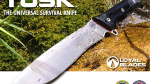 cool knife tusk the universal survival knife by loyal blades by loyal