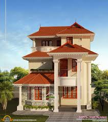 sq ft bedroom villa in cents plot kerala home design plot design