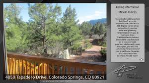Floor Plans With Mother In Law Quarters 4050 Tapadero Drive Colorado Springs Co 80921 Youtube