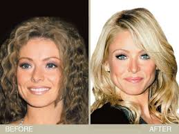 kelly ripper hair style now kelly ripa s brown to blonde hair makeover hair color hair
