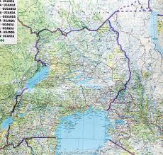 Map Of Rwanda Map Of Kenya Tanzania U0026 Uganda Freytag U0026 Berndt U2013 Mapscompany