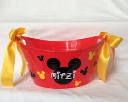 mickey mouse easter baskets 9 best kids party favors images on kids party favours