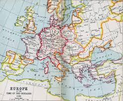 Europe Political Map Quiz by Political Medieval Maps Europe At The Time Of The Crusades