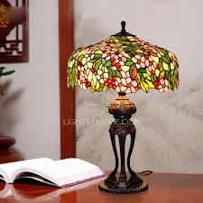 Stained Glass Light Fixtures Flower Pattern Stained Glass Tiffany Light Fixtures