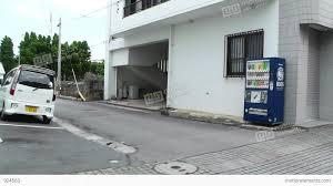 rural japanese town in okinawa islands 15 car hand stock video