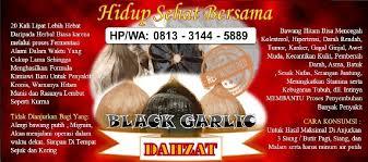 bawang putih hitam bawang hitam black garlic