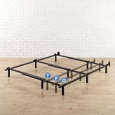 amazon com zinus compack adjustable 7 inch heavy duty bed frame